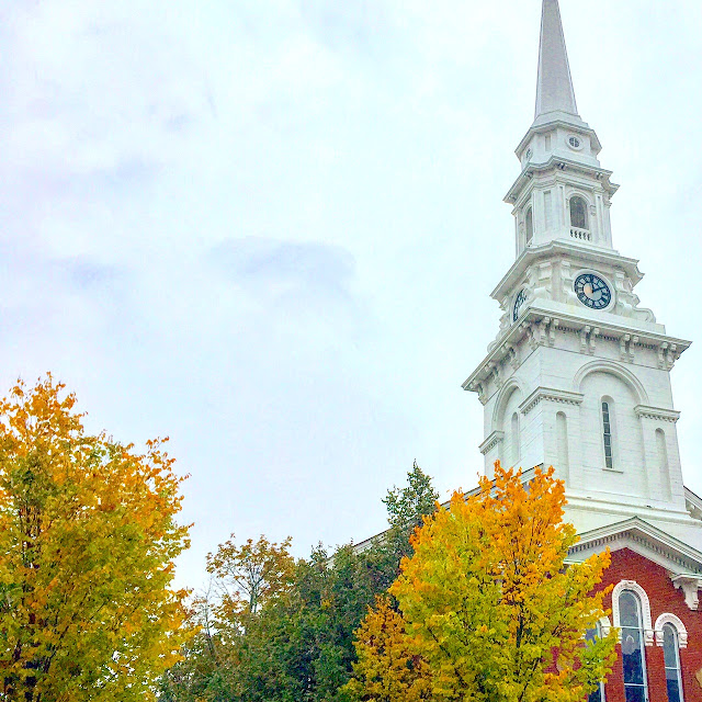 Fall in Portsmouth, New Hampshire