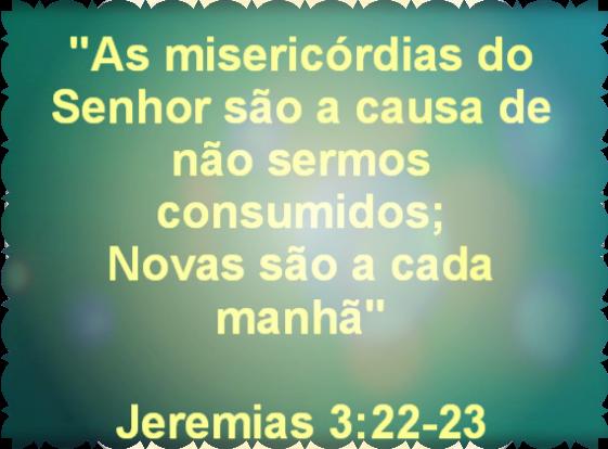 Resultado de imagem para lamentações de jeremias 3:22