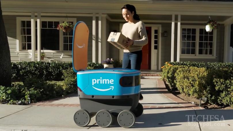 Amazon Scout: Amazon's new six-wheel delivery robot