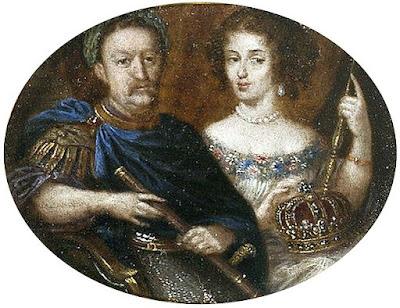 Jan Sobieski i Marysieńka