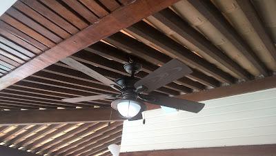Ventilador de teto instalação