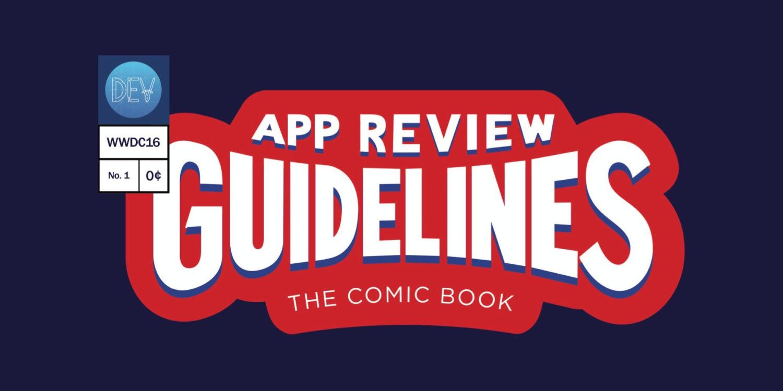 App Store comic book