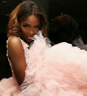 Pretty in Pink! Tiwa Savage looks absolutely stunning in new