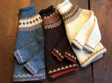 Snowy Day Toddler Fair Isle