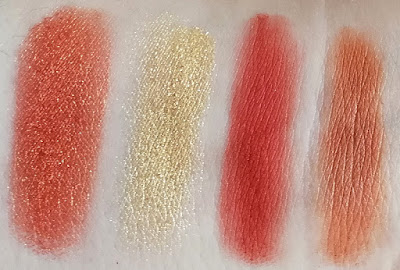 Swatches Yes Please Colourpop
