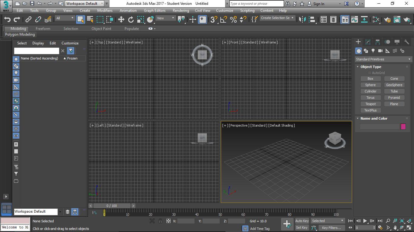 Oasis studio 3ds max 2017 tutorial for Tutorial 3d max