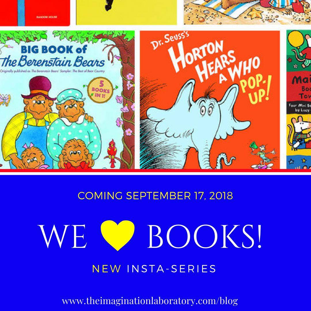 NEW SERIES - WE ❤️ BOOKS!