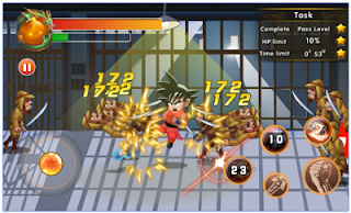 Game Goku Legend: Super Saiyan Fighting Apk Mod Terbaru