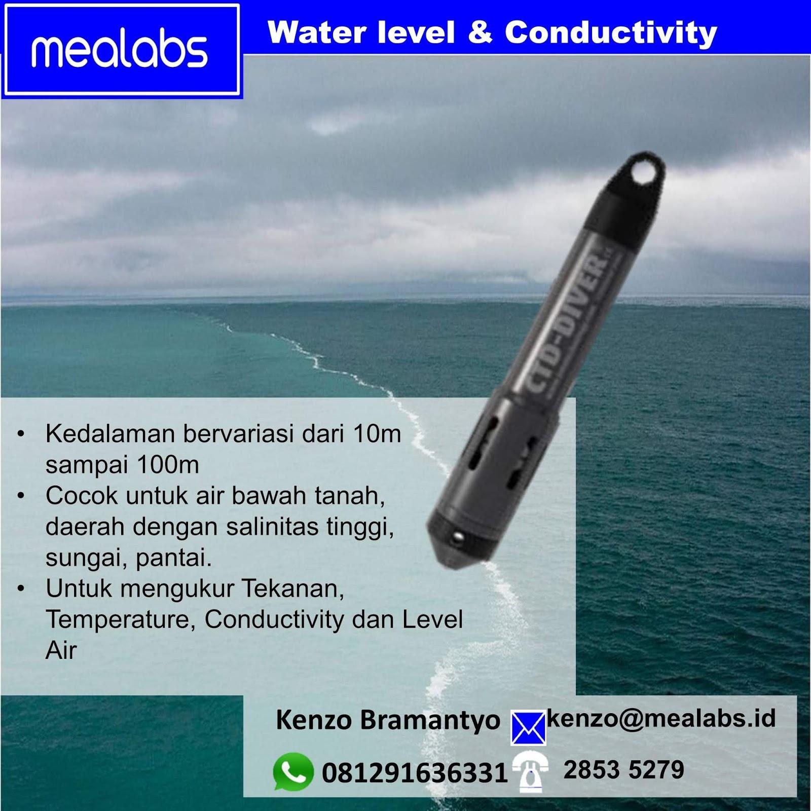 Jual Data Logger Water Level dan Conductivity