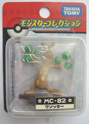 Sudowoodo figure Tomy Monster Collection MC series