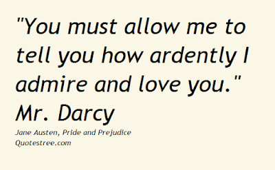 Pride and Prejudice Mr Darcy Quotes