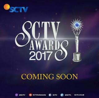 Daftar Lengkap Nominasi SCTV Awards 2017
