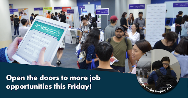 SPEAK TO YOUR POTENTIAL EMPLOYERS IN THIS PMET CAREER FAIR AT HONG LIM COMPLEX