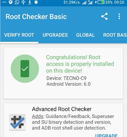 Rooting Guide For Tecno Camon C9