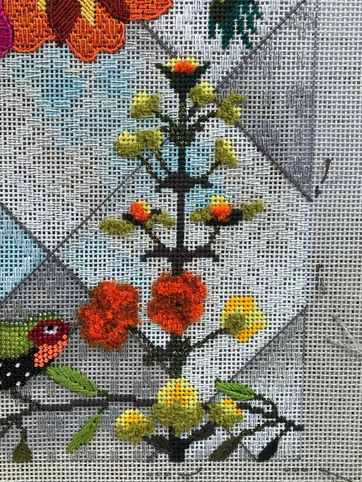 Split The Needles More Orange And Yellow Flowers