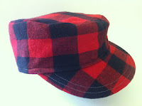 Red and Black Hip-Hop Lumberjack Hat