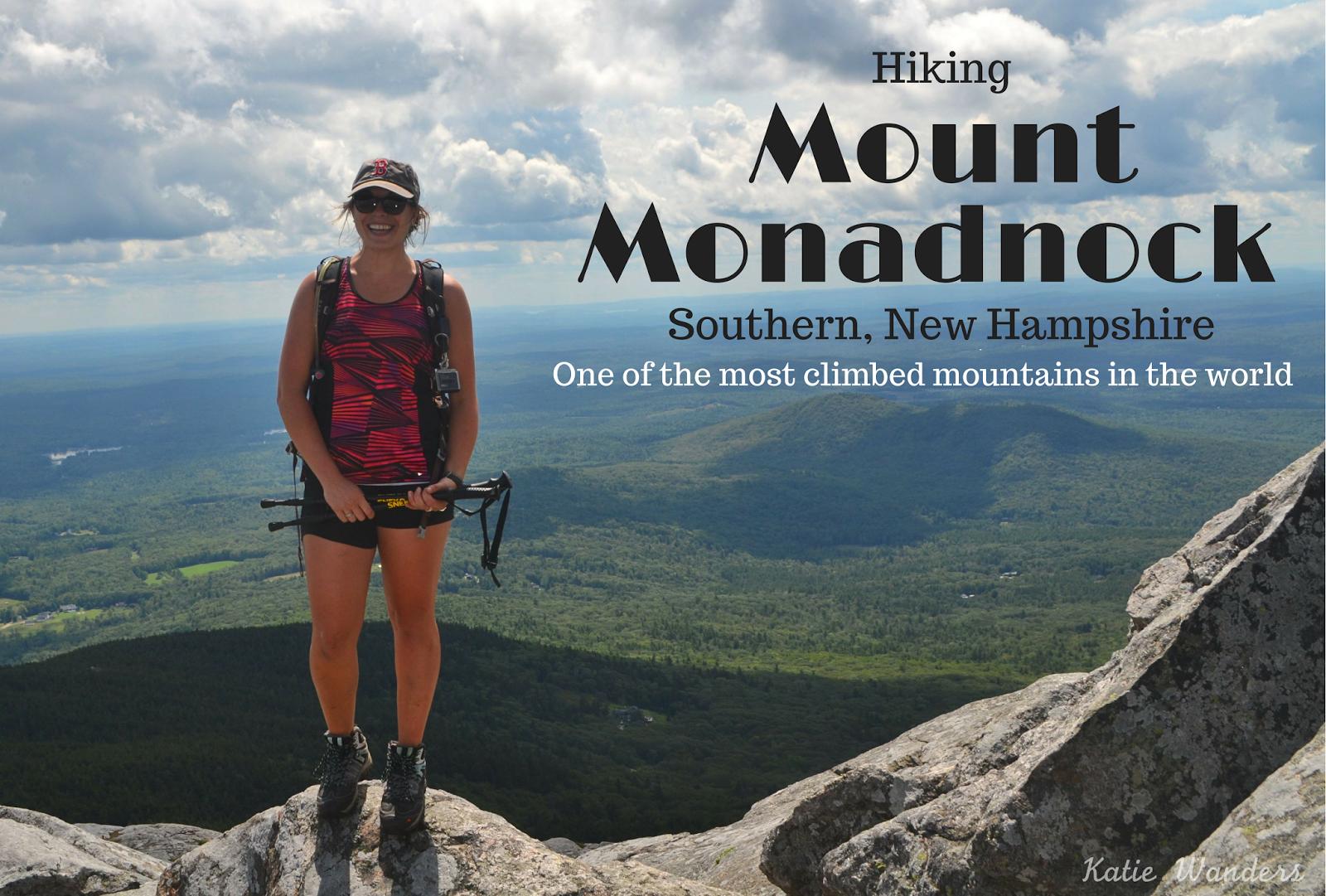 katie wanders hiking mount monadnock southern new hampshire