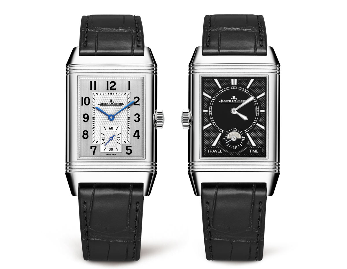 ace1636317b The Reverso Classic Large Duo Small Second features a front dial with  brushed finishing