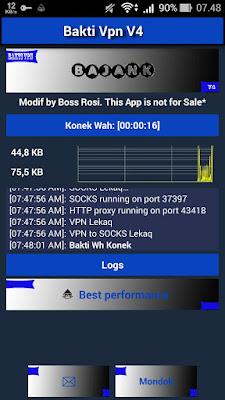 Bakti VPN V4 Full Speed Unlimited Terbaru Maret 2018