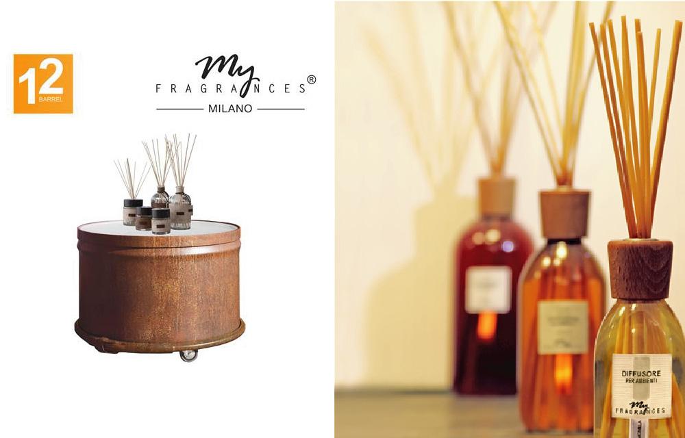 Barrel12 e MyFragrances insieme al Fuorisalone 2017