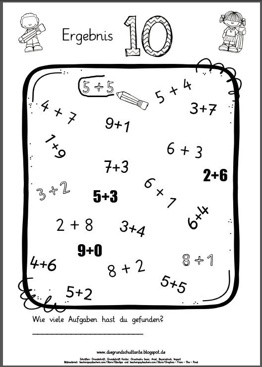 arbeitsblatt vorschule 187 252bungsheft mathe klasse 4