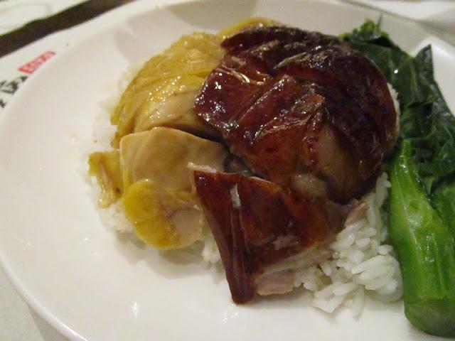 甘牌燒鵝 甘牌燒鵝Roast Gooseと白切滑鶏Steamed Chicken