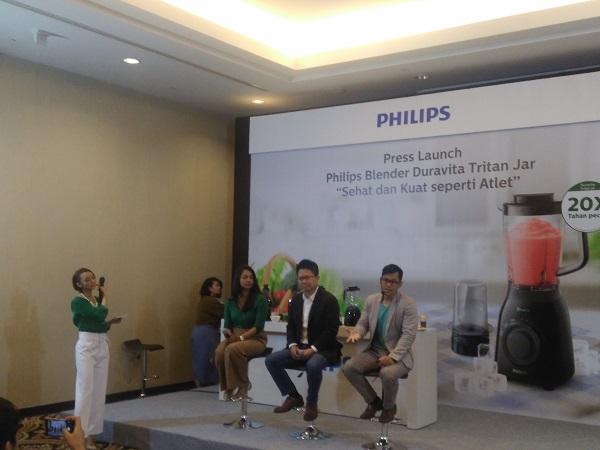 Philips Dukung Gerakan Konsumsi Buah dan Sayur Melalui Hadirnya Blender Duravita Tritan Jar