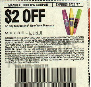 bdb0ac01f2b Maybelline Great Lash Mascara – $5.99 ea. Use (1) $2.00 off Maybelline  cosmetics CVS coupon (select shoppers) AND Use (2) $2/1 Maybelline New York  Mascara, ...