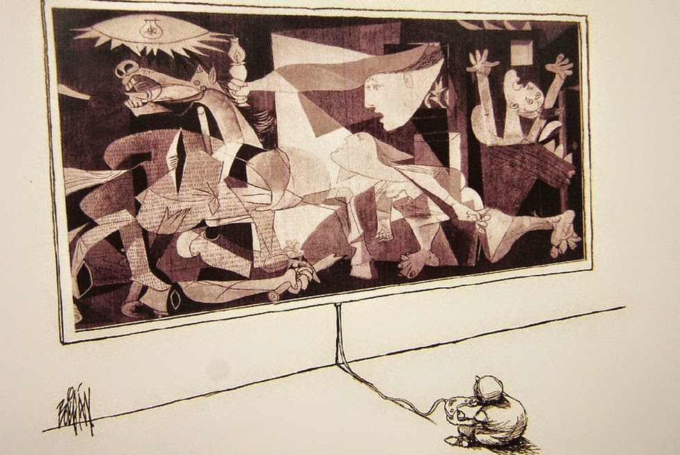 Angel Boligan - Sátira Surrealista | Guernica