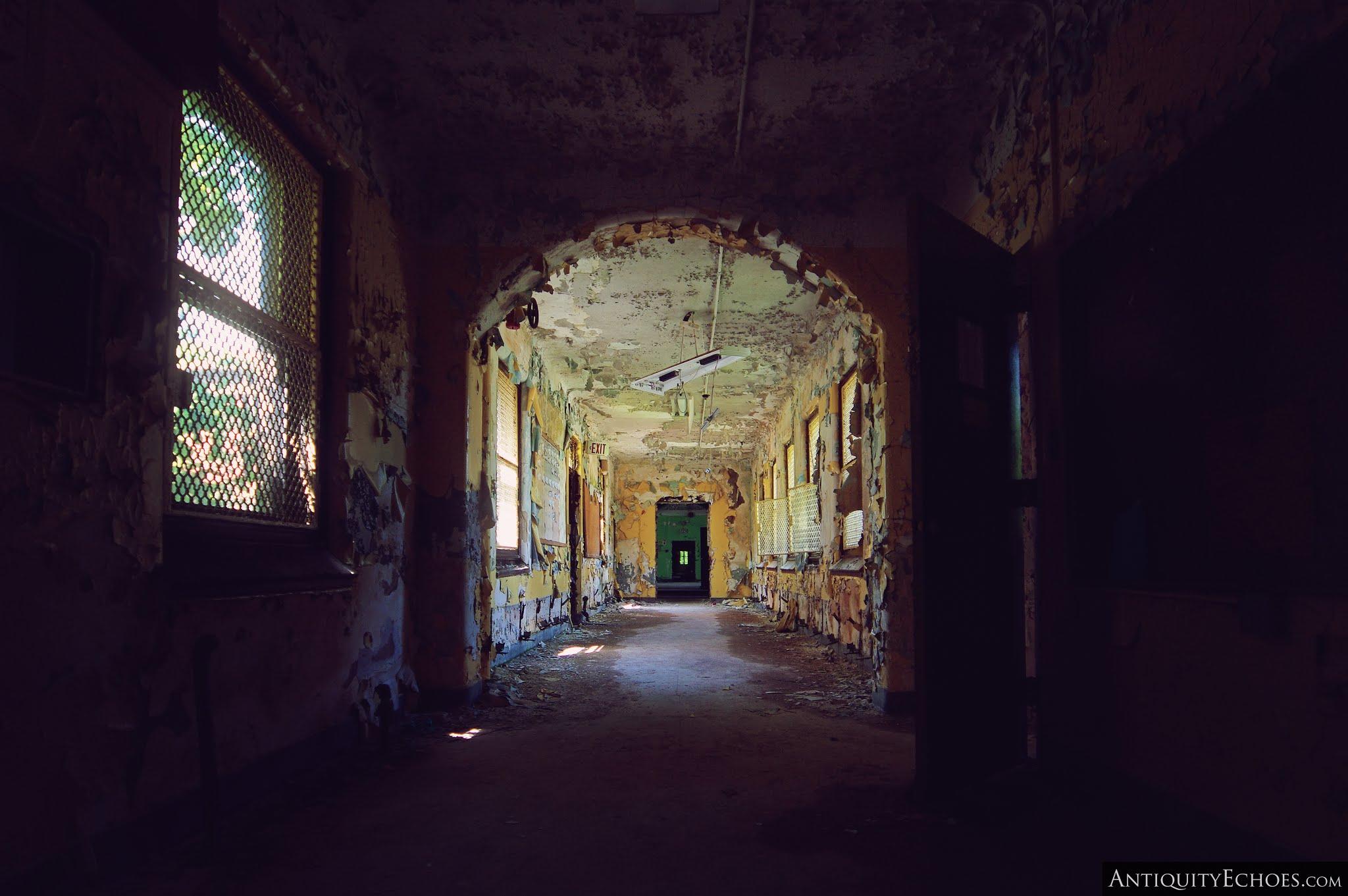 Overbrook Asylum - A Peeling Corridor