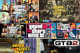 Free Download Game Grand Theft Auto GTA All Series Complete for PC Laptop