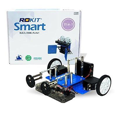 robolink 11 in 1 programmable robot kit