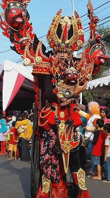 Peserta Pemenang The Caruban Carnival 2016 dari SMAN 1 Plumbon