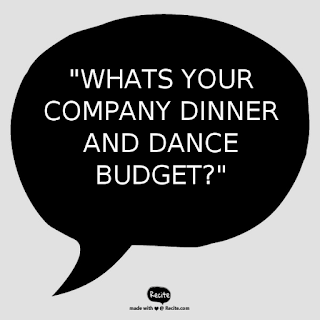 Event Budget | Dinner and Dance Event Company | Electric Dreamz