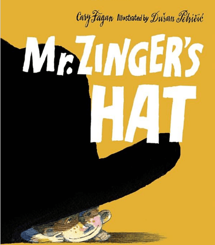 Mr. Zinger's Hat: Book Review with fun activities. A book review of Mr. Zinger's Hat. Includes some extension activities. #mrzingershat #booksforkids #gradeonederful