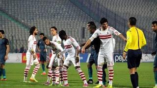 موعد مشاهدة مباراة الزمالك وإنبي ضمن الدوري المصري و القنوات الناقلة .