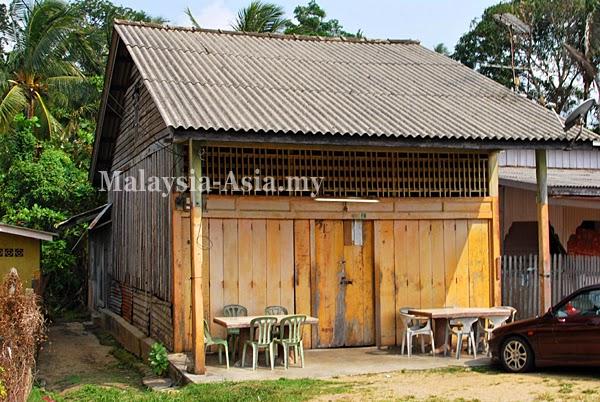 Terengganu Old Wooden Shop