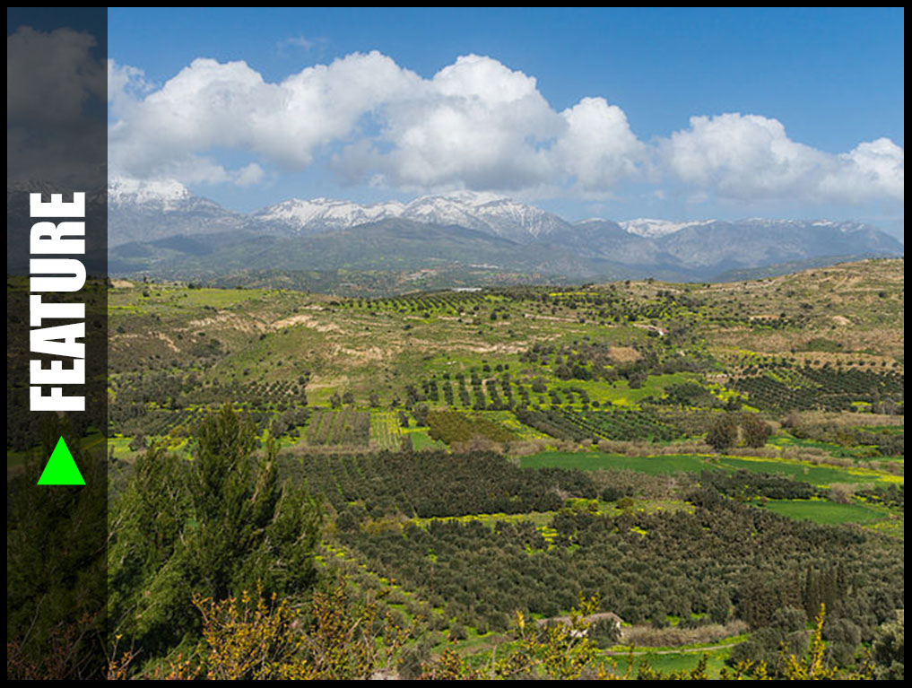 MESSARA PLAIN IN CRETE ISLAND