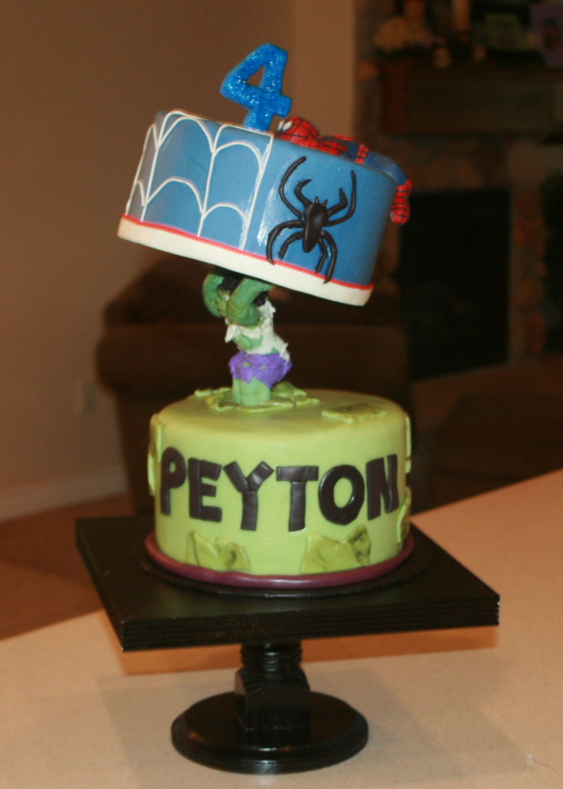 Genevre S Bakery Hulk And Spiderman Trial And Error