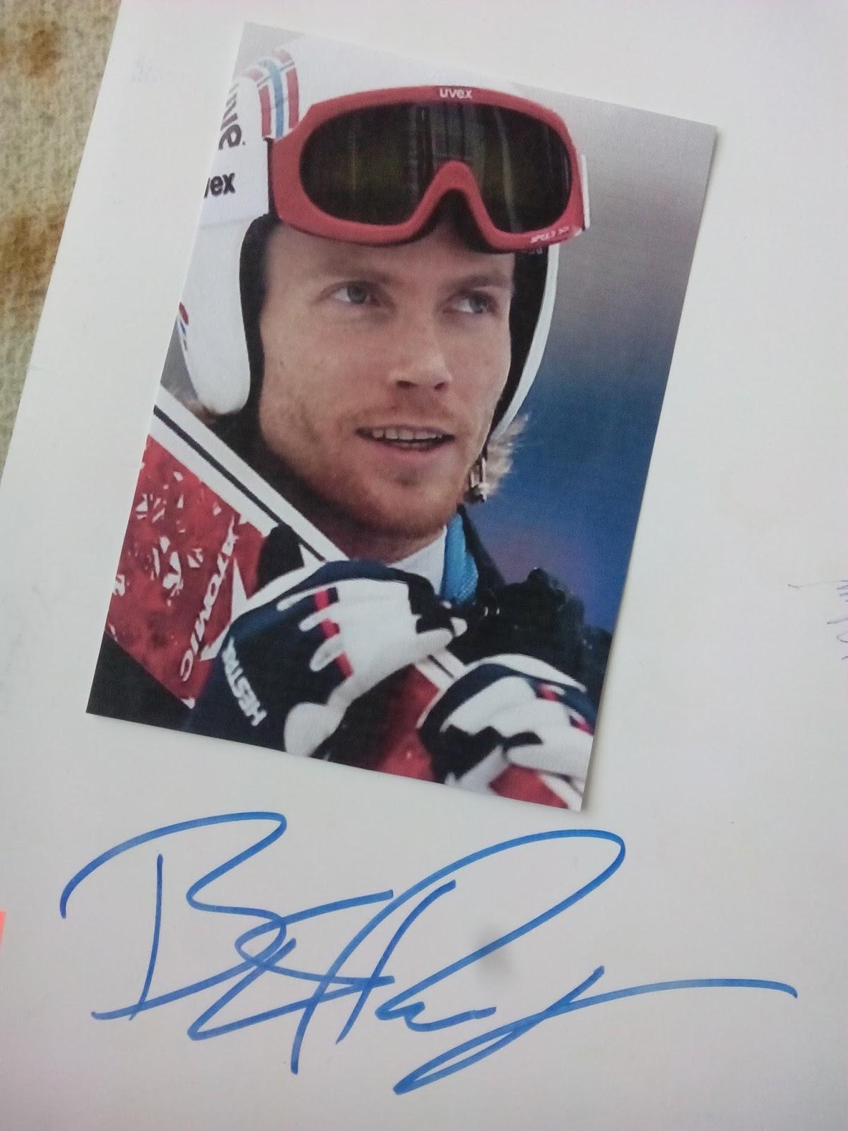 Sportowy świat Autografy Bjorn Einar Romoren