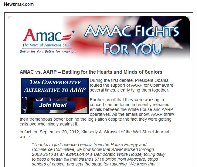 Amac Vs Aarp >> Democurmudgeon Aarp S Conservative Senior Lobby Group Wants Freedom