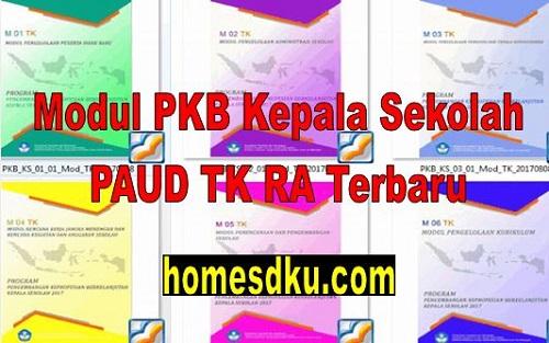 Modul PKB Kepala Sekolah PAUD TK RA Terbaru