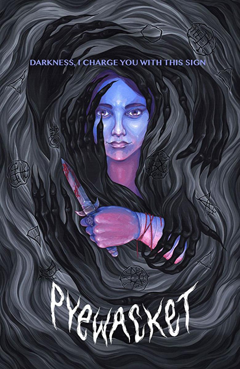 Recenzja horroru Pyewacket (2017), plakat filmowy