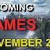 ألعاب شهر نوفمبر 2017 سوني وإكس بوكس والكمبيورتر