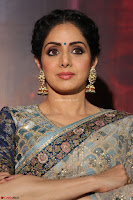 Sri Devi in designer saree stunning beauty at the launch of MOM movie Trailer~  Exclusive 094.JPG