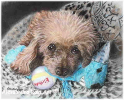 pet portraits pastel paintings custom dog portrait