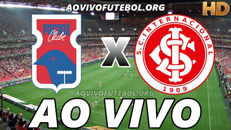 Assistir Paraná Clube x Internacional Ao Vivo HD