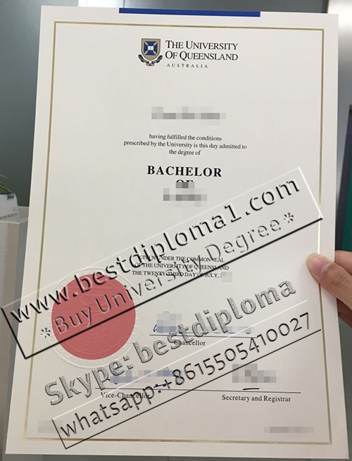 University of Queensland fake diploma