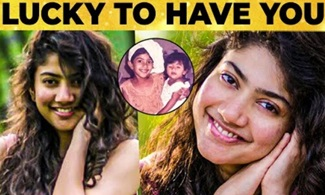 Sai Pallavi's Cute Love Message to Special Person in her Life