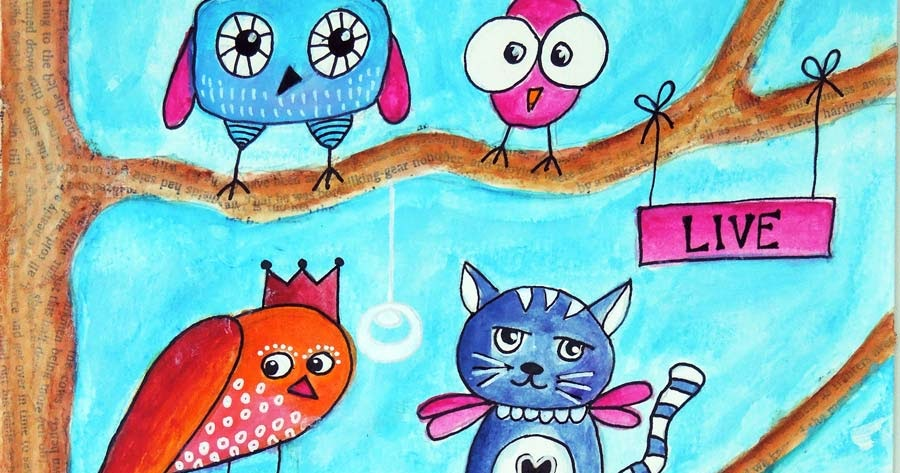 Inky Dinky Doodle: LifeBook Week06: Return Of The Quirky Birds